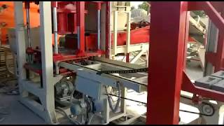 Fully Automatic Fly Ash Brick Making Machine with Stecker in India – Mix Well