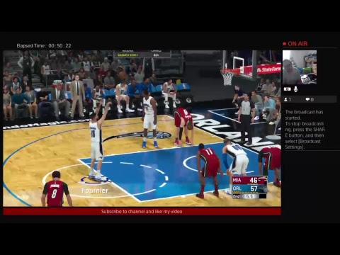 Orlando Magic MyLeague Season 1 Game 1