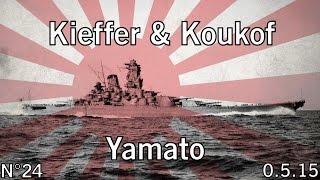 World of Warships - 0.5.15 - Yamato - Iles de glace - HD
