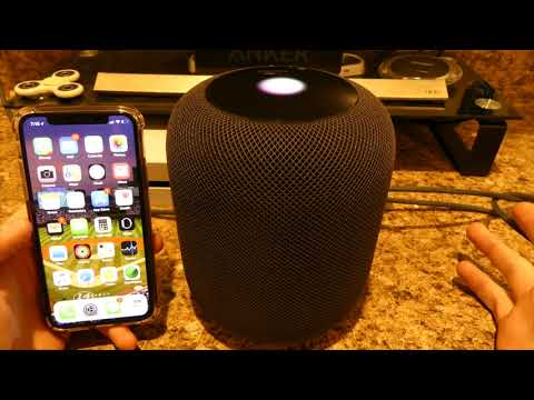 HomePod (Apple) how to play music with different apps