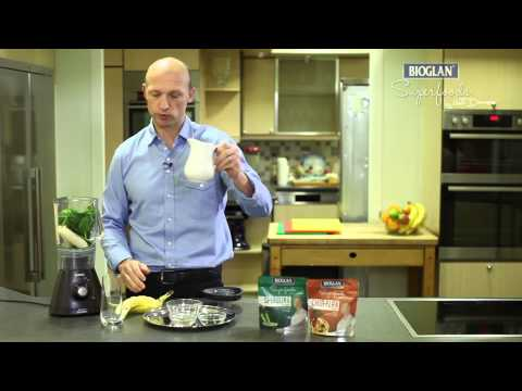 Bioglan Superfood Spirulina Smoothie Recipe - with Matt Dawson