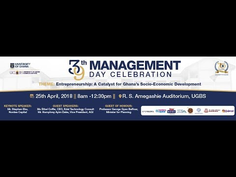 39th Management Day Celebration, UGBS