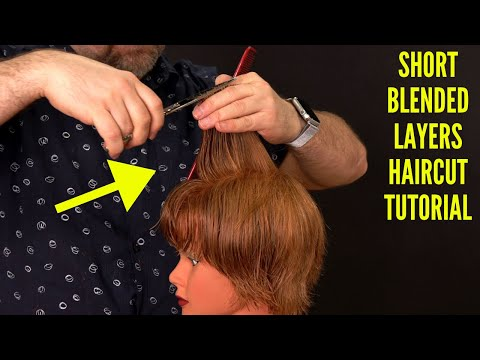 Feathered Layers Haircut Tutorial - Princess Diana - TheSalonGuy