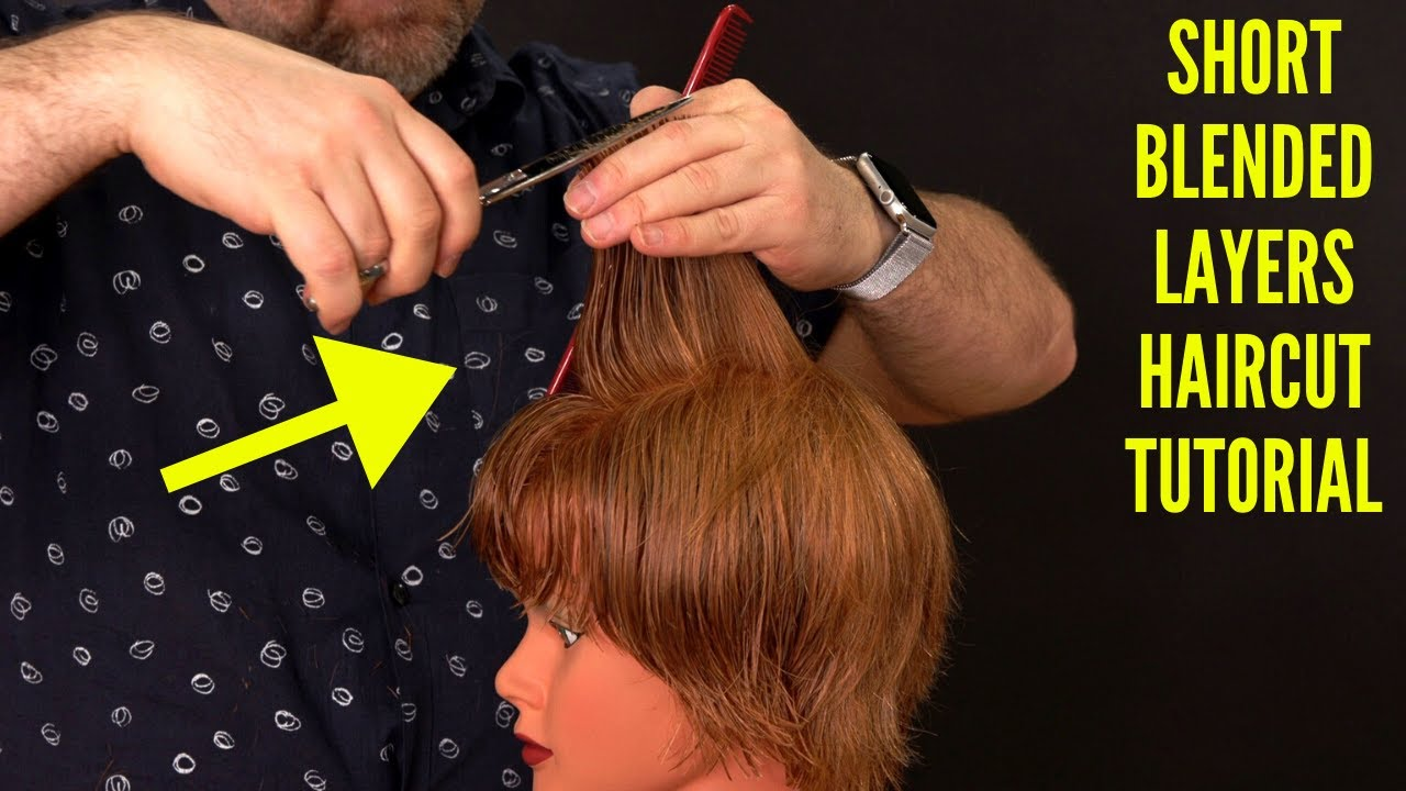 Feathered Layers Haircut Tutorial Princess Diana Thesalonguy Youtube