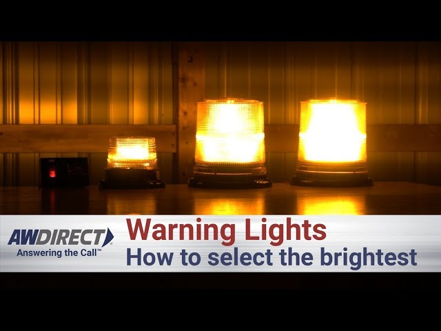 How To Select The Brightest Warning Light For A Tow Truck Zip's aw direct is more than just a marketplace for transportation and truck equipment. the brightest warning light for a tow truck