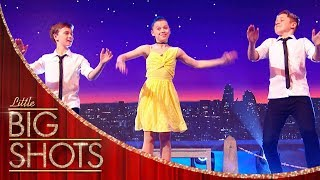 Tap Dance Trio Steal The Show! | Little Big Shots