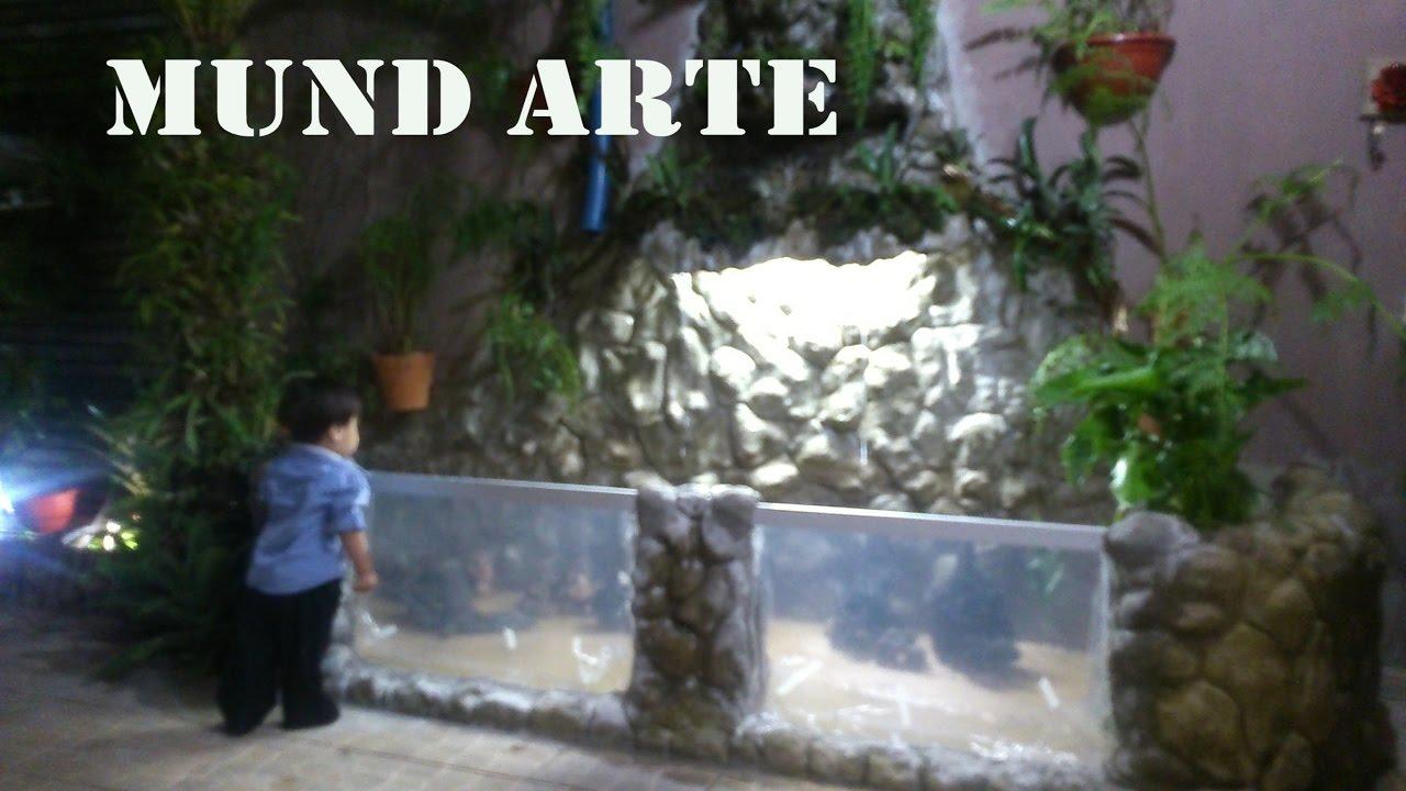 Como fazer um lago artificial de carpas youtube for Como construir un lago artificial