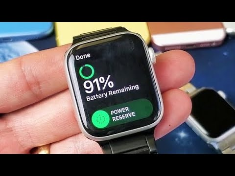 Apple Watches: How To Get In & Get Out Of Low Battery Power Reserve Mode