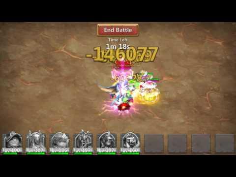 Castle Clash - Archdemon - Stuns Targets / Huge Damage - 873 Million (Atlanticore)!