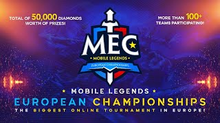 MEC S2 - Mobile Legends European Championships | Day 3 Semifinals