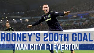 WAYNE ROONEY SCORES HIS 200TH PREMIER LEAGUE GOAL
