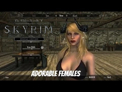 Skyrim adorable face download interesting moment