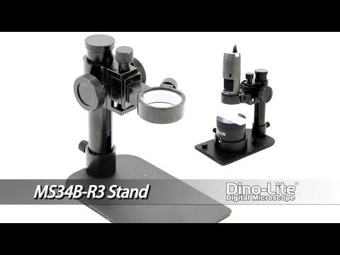 Dino-Lite MS34B-R3 Compact Precise Adjustment Stand