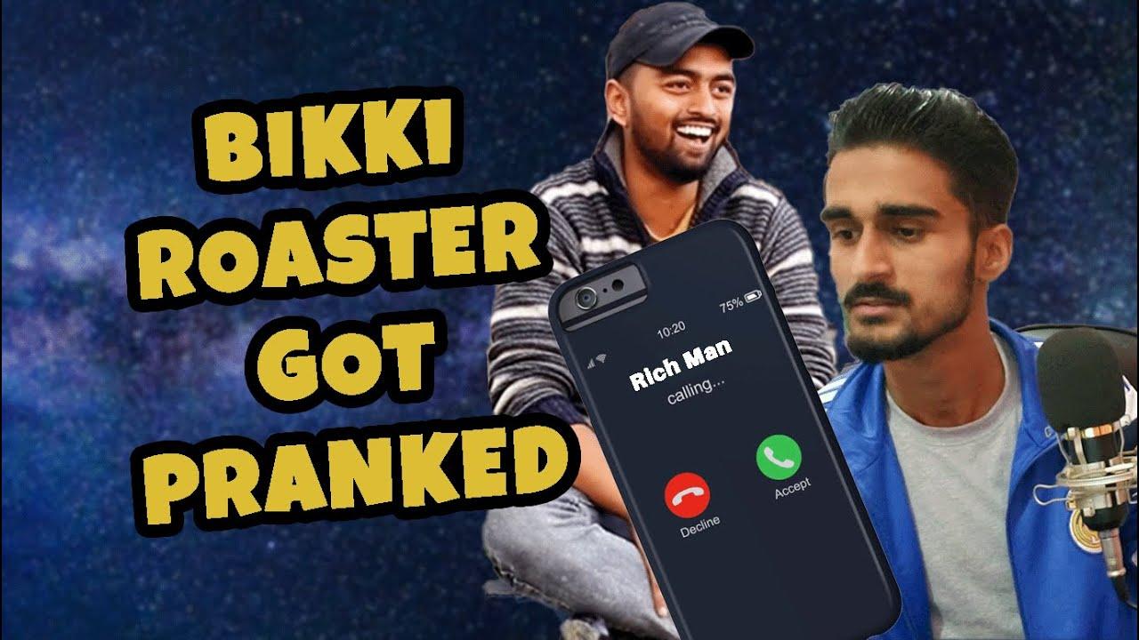 Bikki Roaster Got Pranked || Awesome Reaction