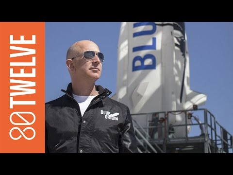 Jeff Bezos' Space Race: Can Billionaires Buy the Galaxy? | 80Twelve