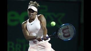 2018 Charleston Second Round   Lara Arruabarrena vs. Madison Keys    WTA Highlights