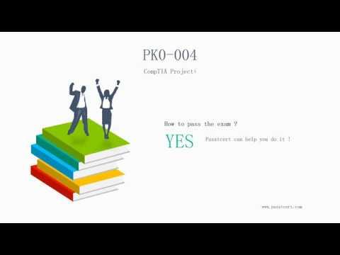 [New CompTIA Exam] CompTIA Project+ PK0-004 Exam Certification Dumps   Passtcert