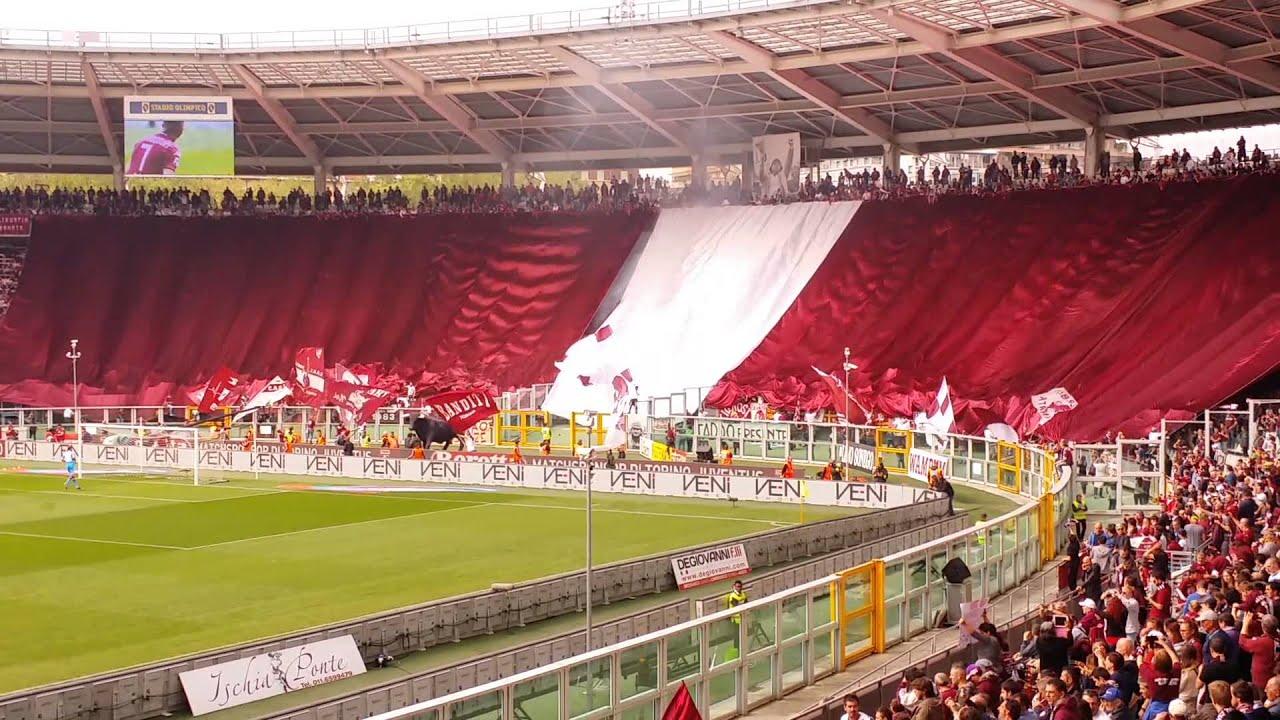 Curva Maratona-Spettacolare coreografia Derby-Torino
