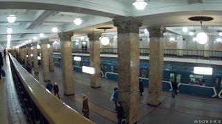 Станция Комсомольская (радиальная) 23.12.2016