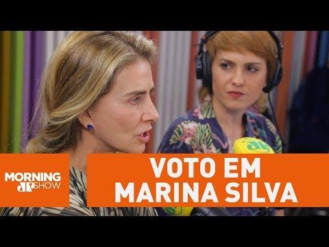 Maitê Proença declara possível voto em Marina Silva