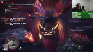 Solo Arch Tempered Teostra With Dual Blades! (HIGHLIGHT)