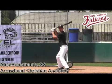 Alec Pomahatch Prospect Video, SS, Arrowhead Christian Academy Class of 2015