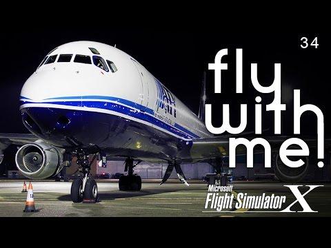 FSX - DC-8 to Toronto Canada