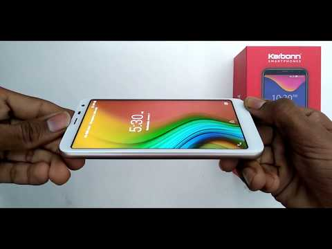 ||Karbon K9 Smart Plus-review And Unboxing|| Full Infinity Display