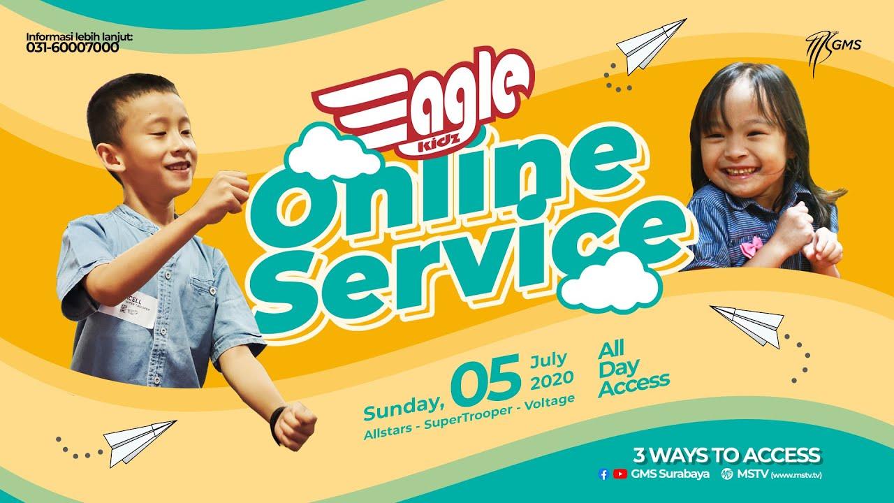 GMS Eaglekidz Allstars Online Service 2 - 6 years old, 5 Juli 2020