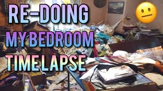 CLEANING MY ROOM TIME LAPSE | Aligirl