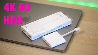 Gambar cover The Best 4k 60Hz HDR Adapter For PC & Mac | Apples New USB-C Digital AV Multiport Adapter