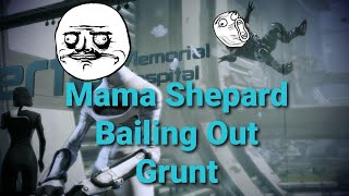 Mass Effect 3: Citadel DLC Bailing Grunt Out