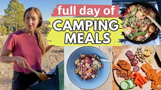 Full day of EĄSY CAMPING FOOD IDEAS: Delicious camping meals and recipes