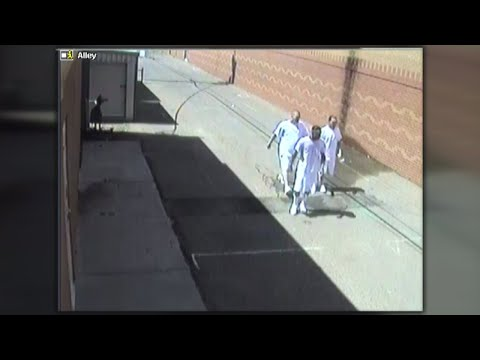 Video shows how three inmates escaped from Curry County jail