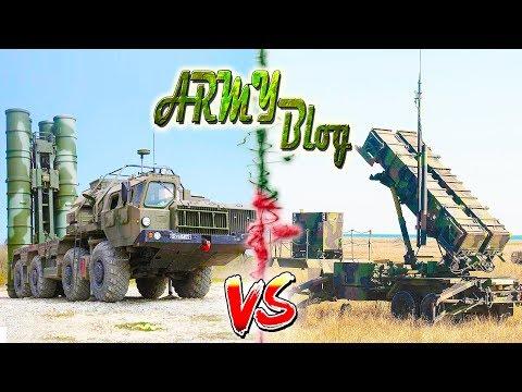 С-400 Vs PATRIOT ⭐ ЧЕЙ ЩИТ ЛУЧШЕ? ⭐ Армия России VS US Army