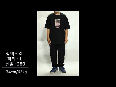 옷 잘입는법 남자 조거팬츠 코디 (리스펙트 반팔티, 밴딩 카고 조거팬츠 , 나이키 SB)[jogger styling , nike sb, respect]