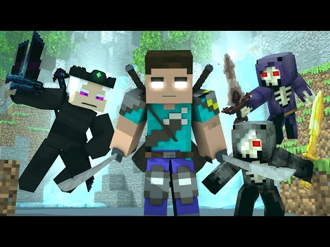 """GRATEFUL"" - A Minecraft Animated Music Video ♪"