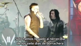 Marilyn Manson - Third Day Of A Seven Day Binge (Live) (Subtitulada al español)