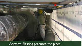 Case Study: Rockland County Sewer District Pipeline Painting & Sandblasting