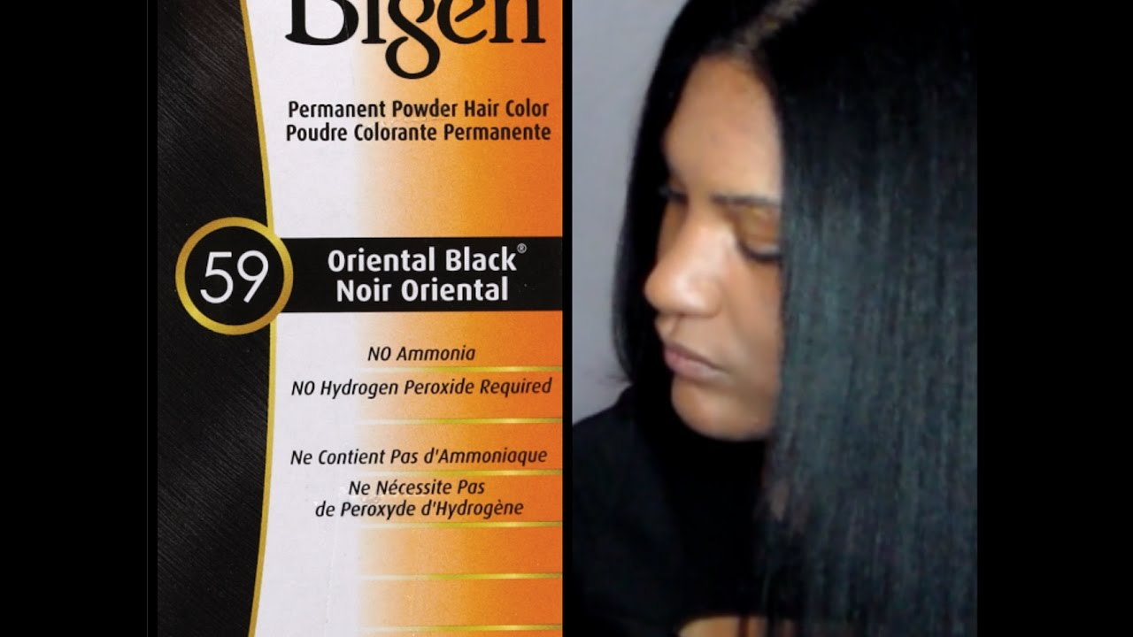 How To Dye your Hair with Bigen Permanent Powder Hair ...