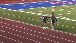 carmel rams cheerleader does 18 backflips in a row