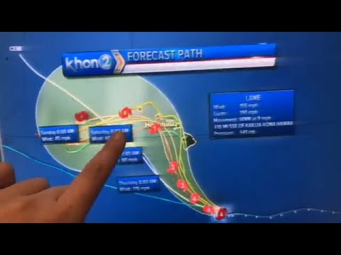 11A update on Hurricane Lane with Kelly Simek (8/21/2018)