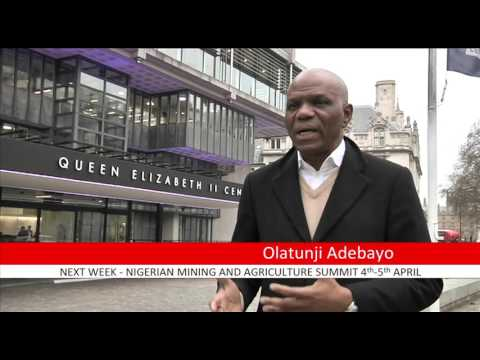 NIgerian Mining & Agriculture  Summit, London
