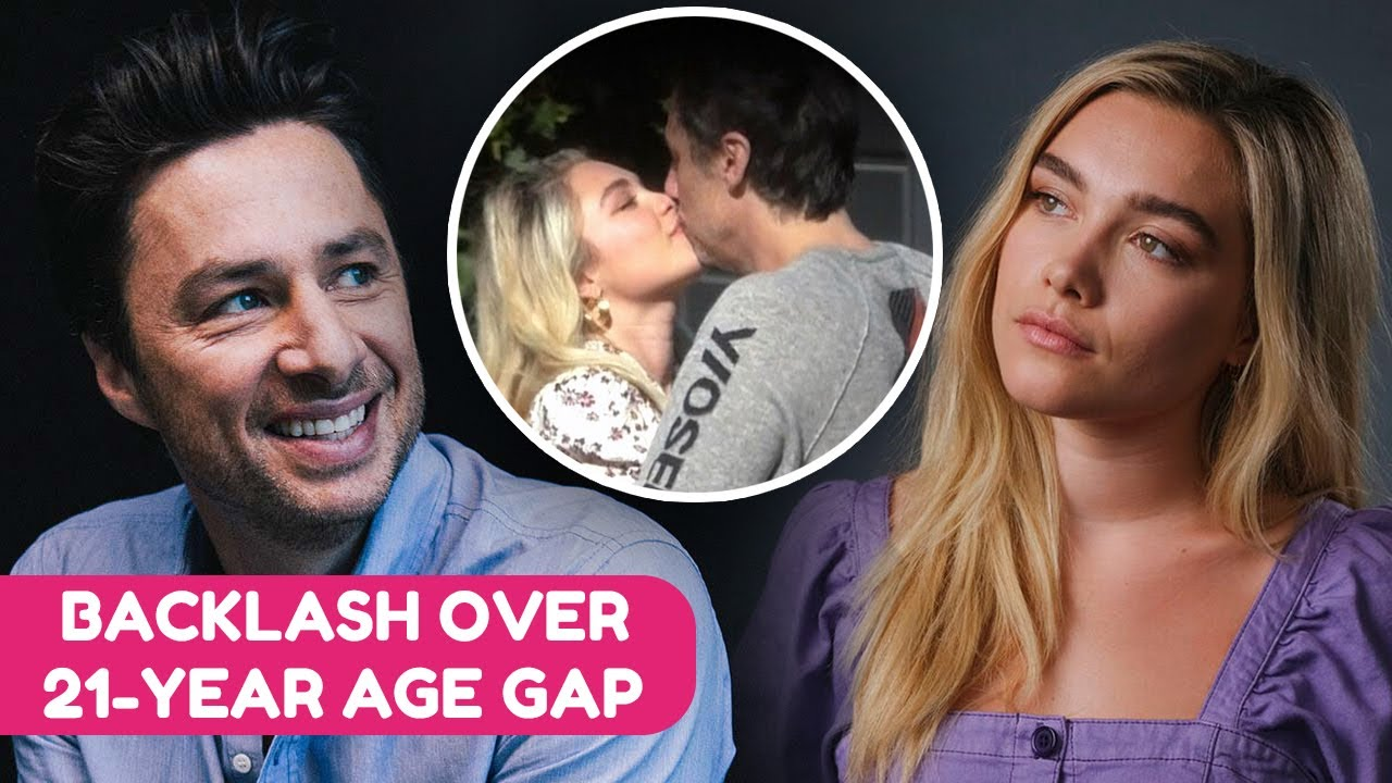 How Age Hate Affected Florence Pugh And Zach Braff's Relationship   Rumour Juice