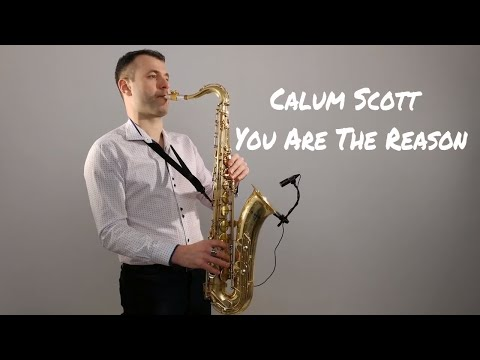Calum Scott - You Are The Reason Saxophone Cover by Juozas Kuraitis
