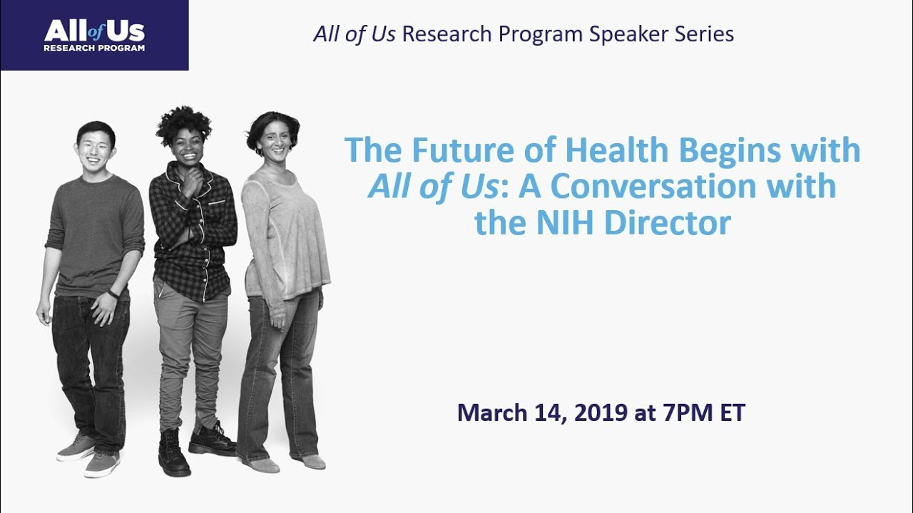 The Future of Health Begins with All of Us: A Conversation