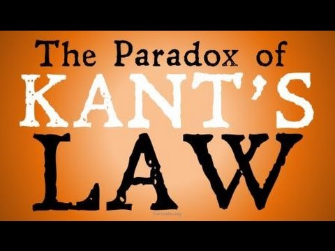 The Paradox of Kant's Law (Ought Implies Can)