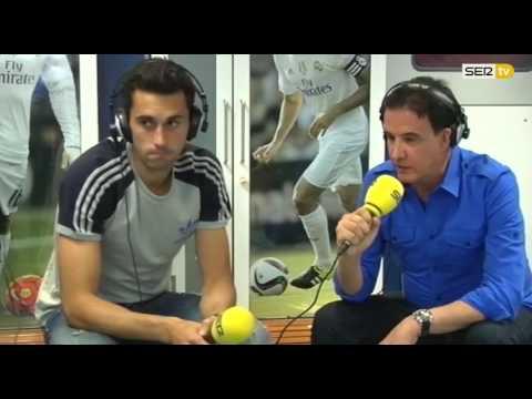 Entrevista de Álvaro Arbeloa en el 'Larguero' 09/05/2016
