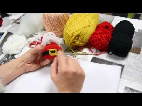 Amigurumi Knitting Santa Claus Amigurumi – Santa Claus Crochet ... | 360x480