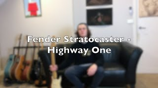 Fender Stratocaster Highway One Review and Demo